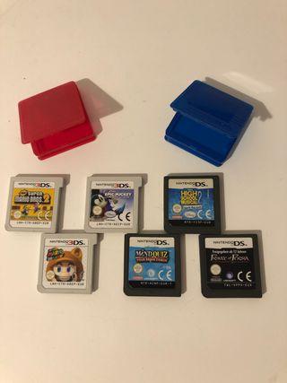 3 juegos de Nintendo 3Ds o 2Ds por 10€