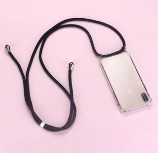Funda iPhone 12 pro con cuerda