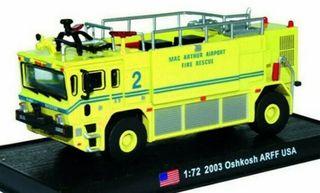 Precioso camión de bomberos americano 1:72