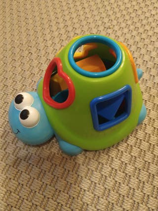 juguete tortuga encajable