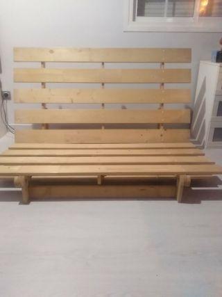 Estructura sofá-cama-futón