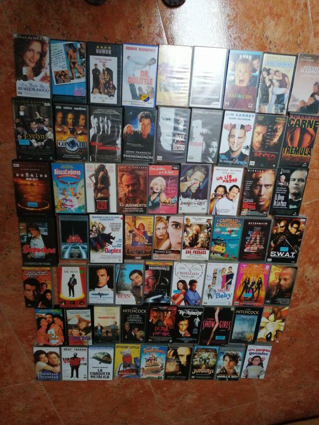 Películas VHS como nuevas