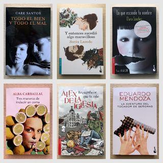 Lote novelas curiosas de bolsillo