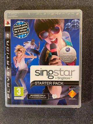 Singstar Starter Pack Playstation 3
