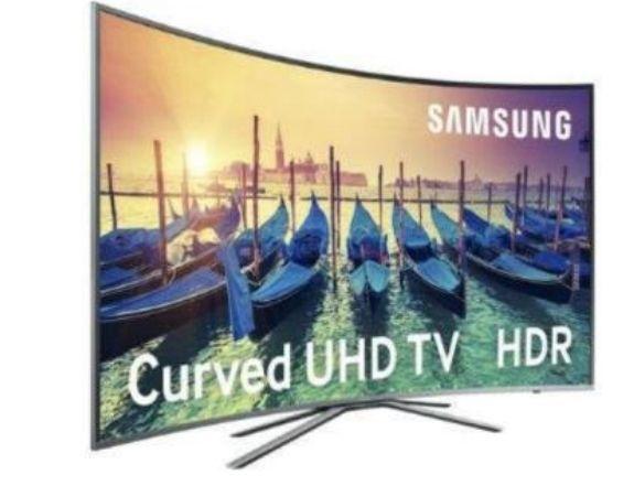 """SAMSUNG Tv Led UHD 4K 55 """" CURVA"""