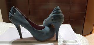 Zapatos tacón alto