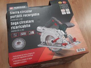 Sierra circular a bateria 20V para discos Ø 150 mm