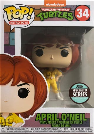 Funko Pop Specialty Series April O'Neal