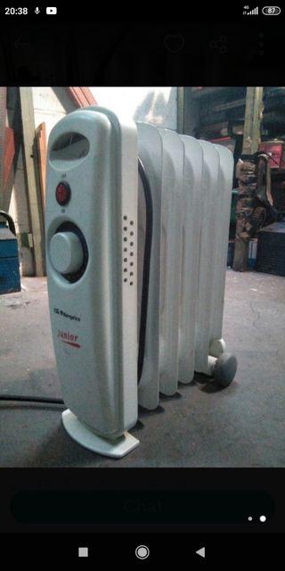 Calefactor radiador de aceite pequeño