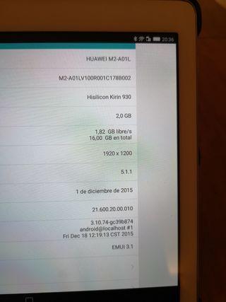 Tableta Huawei M2