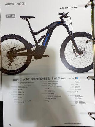 BH e bike carbono talla m