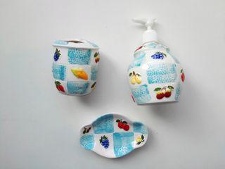 Juego de baño de cerámica (NUEVO) Juego de baño (