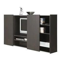 Mueble tv puertas correderas