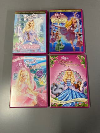 Pack películas Barbie DVD