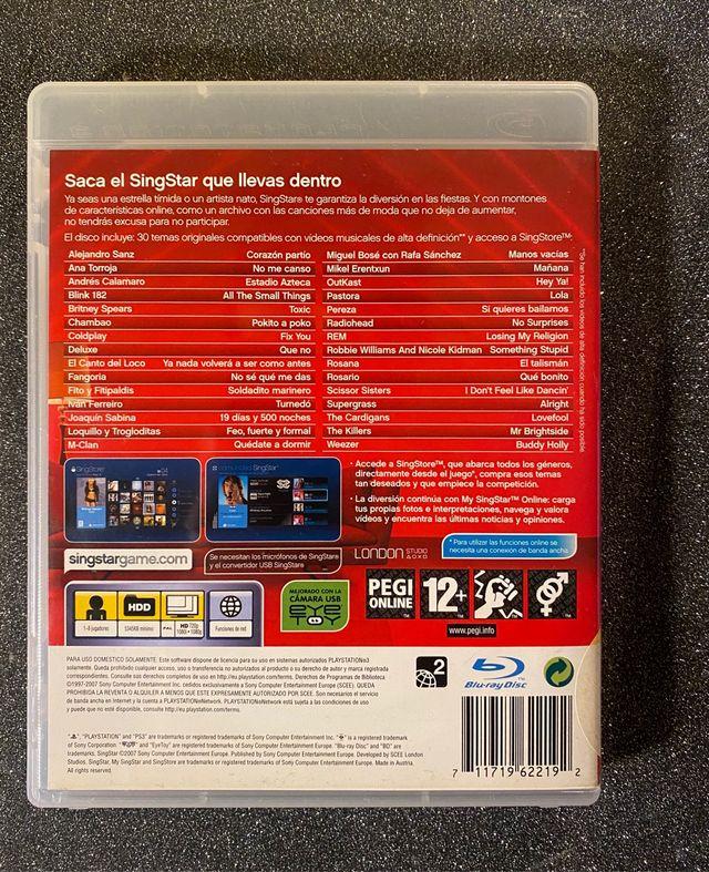 Singstar Singstore Playstation 3