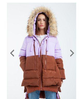 abrigo kling plumas