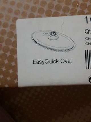 super tapa vapor oval AMC y olla de 5L