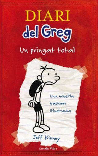 """Libro CATALÁN Diari del greg/ """"un pringat total"""""""