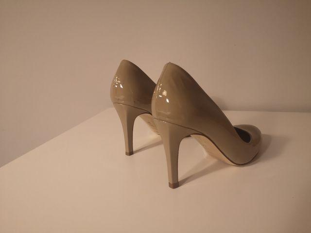 Zapato tacon charol