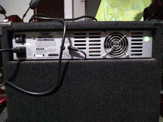 amplificador bajo o guitarra ashdown t15 180