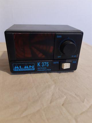 Pre amplificador señal emisora.
