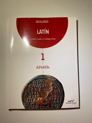Libro de latin 1º de bachillerato