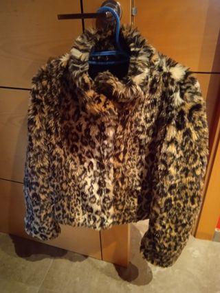 chaqueta de leopardo