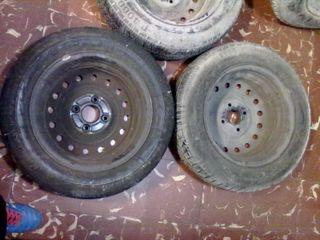 """2 llantas 15""""4X114,3 ET50 Honda, Rover, Nissan..."""
