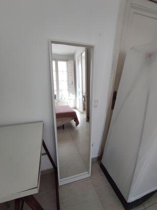 Espejo grande blanco