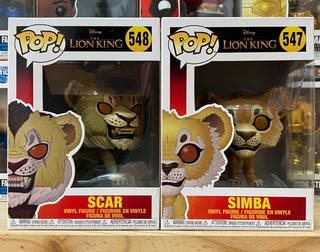 THE LION KING PACK FUNKO