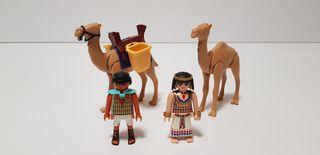 Playmobil camellos y figuras