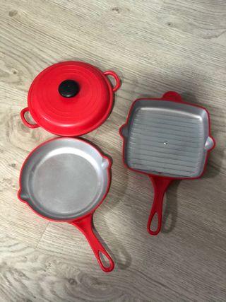 Cocinita y accesorios