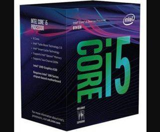 i5 8600k intel core procesador