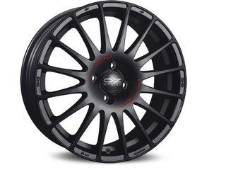 Llantas SUPERTURISMO GT MATT BLACK RED LETTERING 7