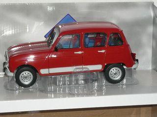 Renault 4 gtl clan solido 1:18
