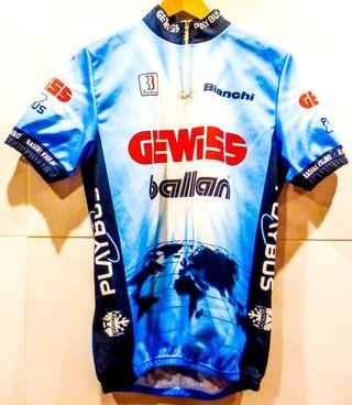 Maillot ciclismo GEWISS años 90, talla L