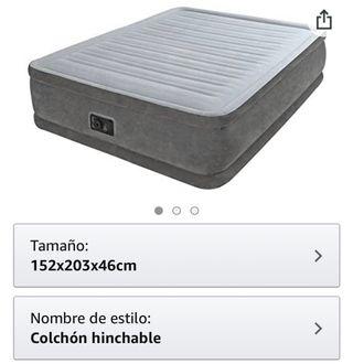 Colchón hinchable- electrico