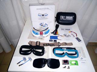 FAT SHARK V3 PACK GAFAS FPV PRO