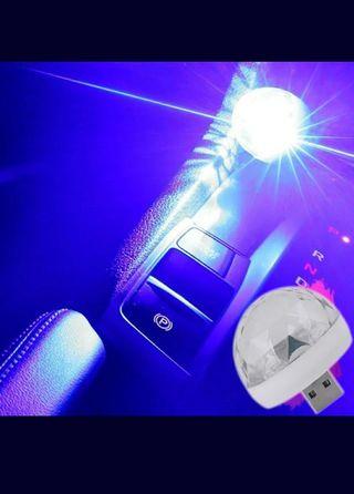 DJ Magic Ball Mini Disco Light usb car atmosphere