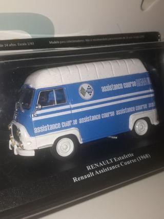 maqueta Renault asistencia 1/43