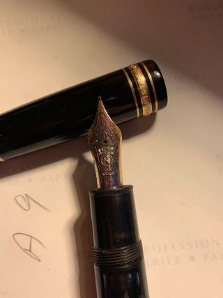 Pluma y bolígrafo MontBlanc