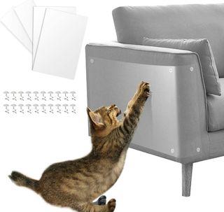 Protector de Muebles Gatos, 4PCS Transparente