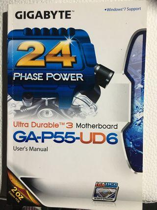 Ordenador pc. Placa base micro memoria discos duro