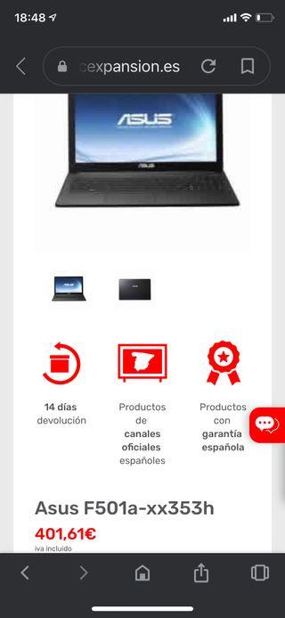 Asus Intel Core i3 Windows10Pro