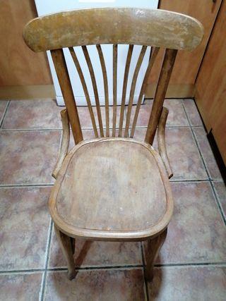 sillas antiguas estilo thonet