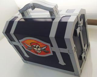 Playmobil Cofre isla Pirata + Barco pirata
