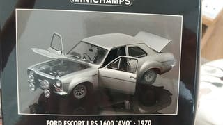 1:18 Ford escort I RS 1600 AVO 1970 Minichamps