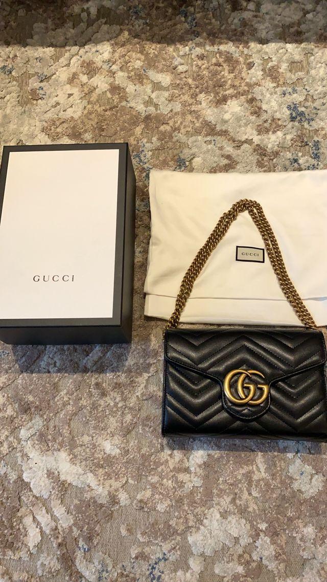 Bolso Gucci GG Marmont de Piel Matelassé