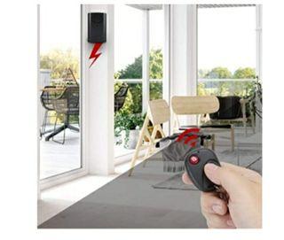 Alarma con sensor de movimiento y mando a distanci