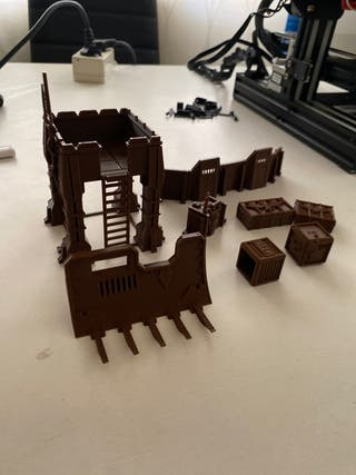 Escenario wh49 torre barricadas y cajones